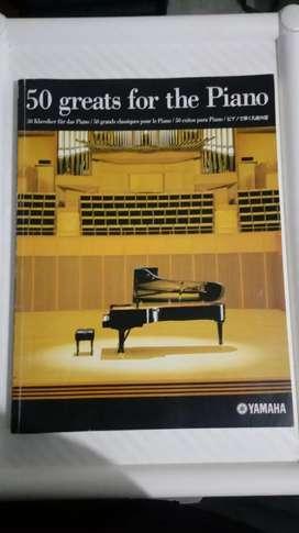 50 greats for the piano yamaha