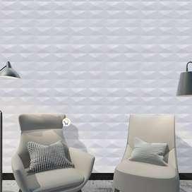 Panel decorativos 3D pared de 30x30 cm texturizado hogar oficina