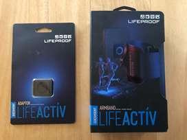 Armband / estuche de brazo / accesorio para trotar para el celular o ipod marca Lifeproof