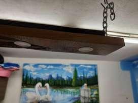 lamparas rusticas para barras