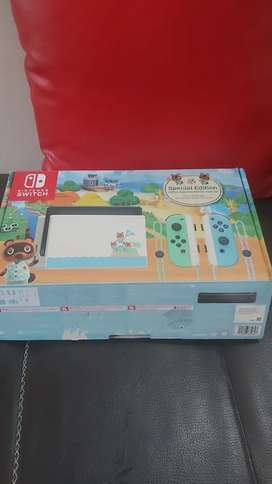 Nintendo Switch animal crossing 6 meses de uso
