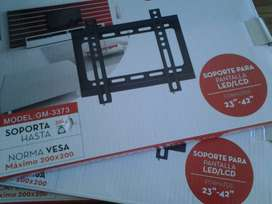 "SOPORTE FIJO PARA PANTALLA LCD/LED FORMATOS 23""-42"""