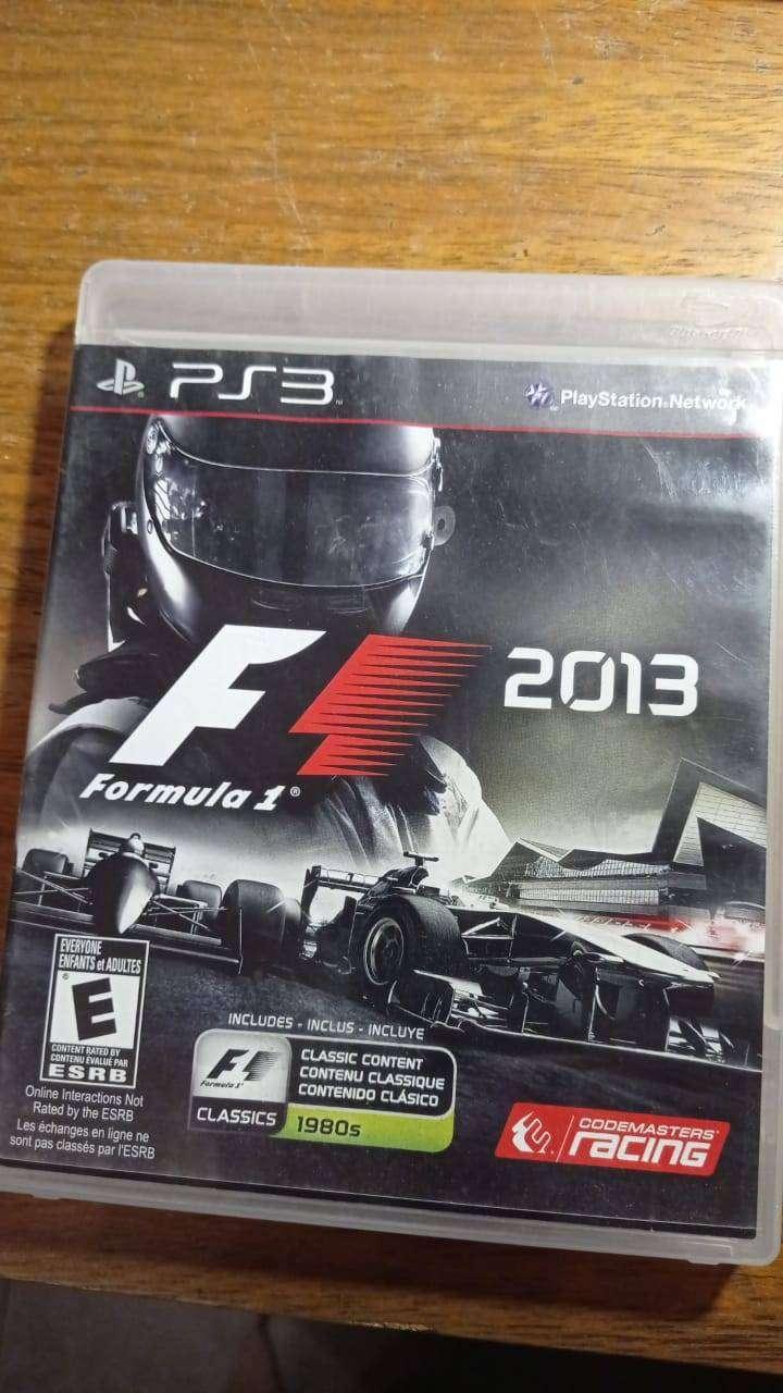 Formula 1 2013 Ps3 Juego Fisico