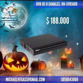 DVR Pentahibrido 8 Canales Dahua