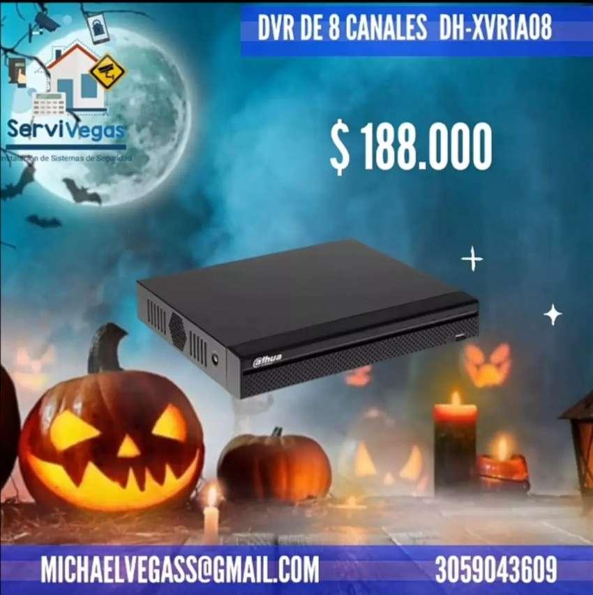 DVR Pentahibrido 8 Canales Dahua 0
