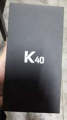 Celular LG K40 LM-X420HM 2GB RAM 32GB ROM camara posterior 16mp camara delatera 8mp nuevo y sellado se origen