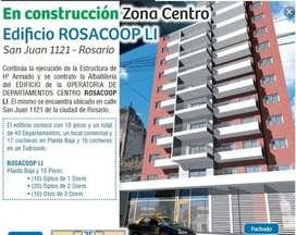 Vendo Plan De Departamentos Cooperativa De Vivienda Rosario Zona Centro. Excelente modo de ahorro/inversión