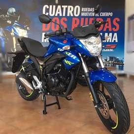 Moto Suzuki GSX 150 Económica  y Potente