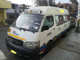 Combi joylong, modelo 2013, combustible diesel