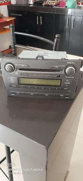 Vendo radio original de toyota corolla berlina