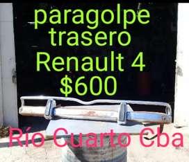 Paragolpe trasero Renault 4