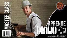 APRENDE A TOCAR PIANO, Master Class - Curso Online