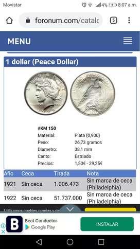 Moneda estadounidenses