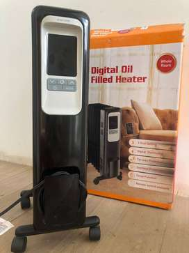 Calentador Digital Oil Filled Heater
