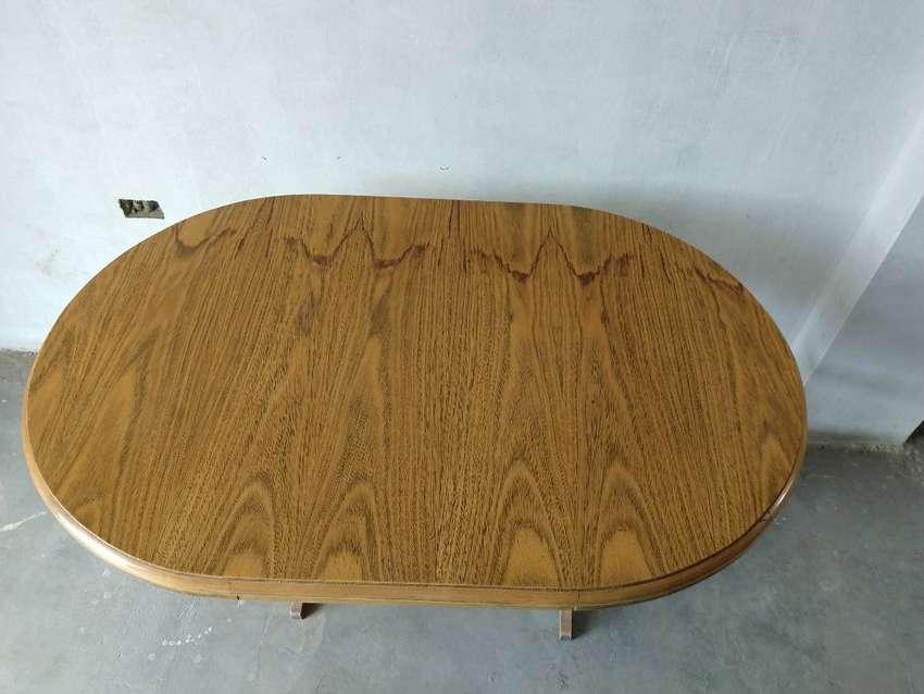 Mesa de madera desmontable 0