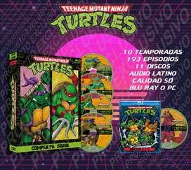 Tortugas Ninja 1987 Serie Completa 480p Latino
