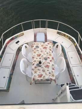 Se vende casa bote para navegar