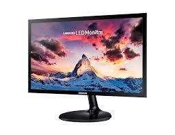 Monitor Samsung Led 24  Hdmi Y Vga Ls24f350fhlxzl 0