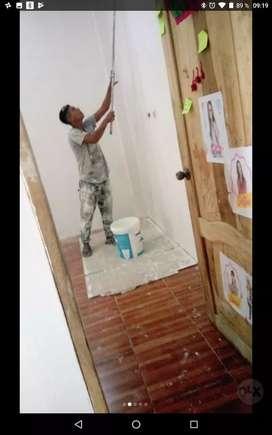 Busco trabajo de pintura empaste cerámicas gasfiteria