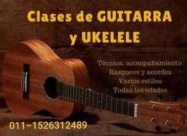 Clases de ukelele en Lanús