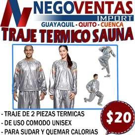 TRAJE TERMICO SAUNA EN DESCUENTO EXCLUSIVO DE NEGOVENTAS