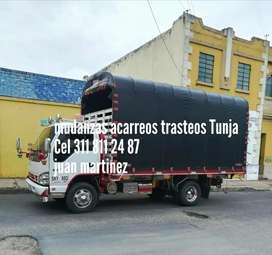 Transporte mudanzas tunja