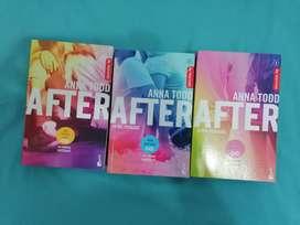 After (1,2y 3 libro) Originales
