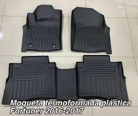 Moqueta termoformada fortuner plastica