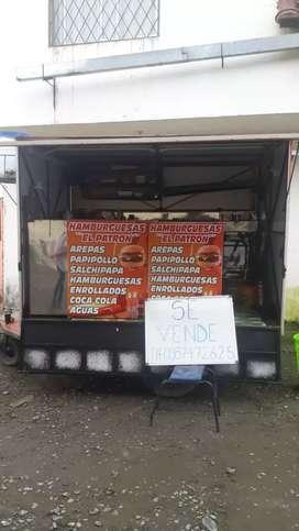 Food truck (salchipapero)