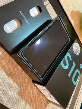 Samsung S10 plus color Prism Green