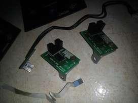 Plotter grahptec Panel sensor motor Y laser