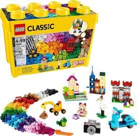 Lego Classic Caja Grande 790 Fichas Caja De Ladrillo 10698 Nuevo y Sellado