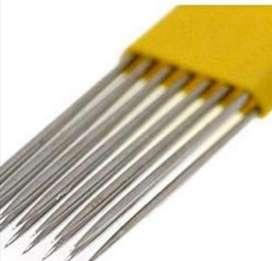 Agujas Microblading Microshading Cejas