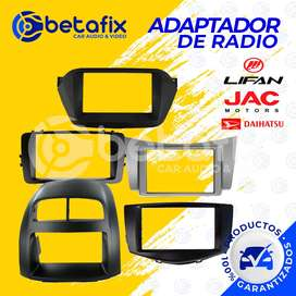 ADAPTADORES O METRAKIT DE RADIO 2DIN PARA JAC BETAFIX