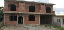 Se vende casa en construcción en arenillas dos lozas