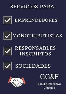 Contador Público - Monotributo - Responsable Inscripto - sociedades - Certificaciones
