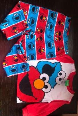 Pijama Plaza Sesamo 3T