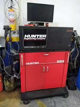 Alineador Automotriz marca Hunter