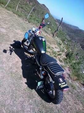Vendo moto guerrero bobber 150cc