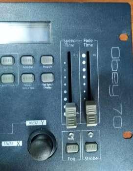Controlador para luces dmx