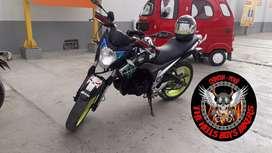 Se vende moto Italika 250z