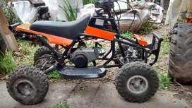 mini cuatriciclo Jaguar 50 cc para niños