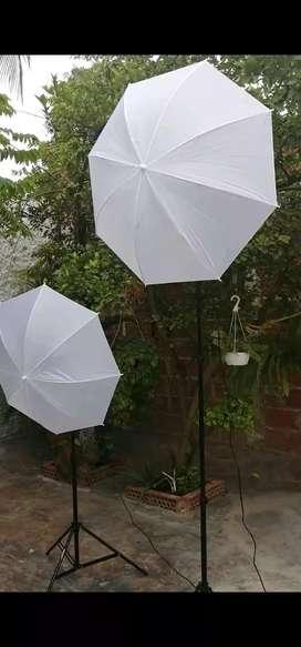 Kit de sombrilla para iluminación