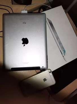 Vendo iPad y iphone 6
