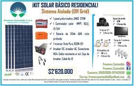 Kit Solar Básico Residencial