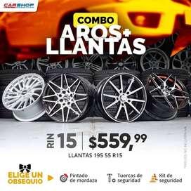 PROMOCIÓN AROS Y LLANTAS RIN 15 AUTO