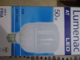 Venta de lámparas LED 50W E40 Fria