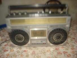 Radiograbador Sharp Gf 6060 Funcionando Leer Descripcion