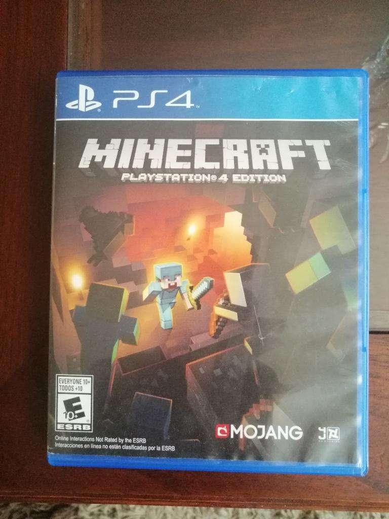Minecraft Ps4 Regalo Navidad 0
