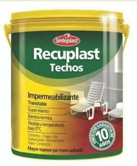 Recuplast Techo Impermeabilizante 20 Litros
